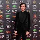 Jorge Suquet en la alfombra roja de los Premios Goya 2020