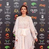 Najwa Nimri en la alfombra roja de los Premios Goya 2020