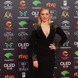 Pilar Castro en la alfombra roja de los Premios Goya 2020