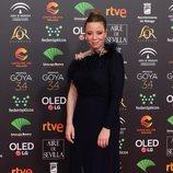 Ainhoa Santamaría en la alfombra roja de los Premios Goya 2020