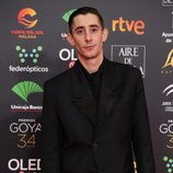 Enric Auquer en la alfombra roja de los Premios Goya 2020