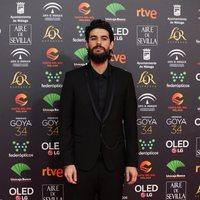 Oliver Laxe en la alfombra roja de los Premios Goya 2020