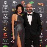 Luis Tosar y Maria Luisa Mayol en la alfombra roja de los Premios Goya 2020