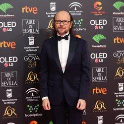 Santiago Segura en la alfombra roja de los Goya 2020