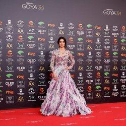 Penélope Cruz en la alfombra roja de los Premios Goya 2020