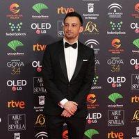 Alejandro Amenábar en la alfombra roja de los Premios Goya 2020
