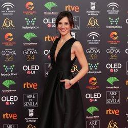 Malena Alterio en la alfombra roja de los Premios Goya 2020