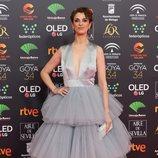 Ruth Gabriel en la alfombra roja de los Premios Goya 2020