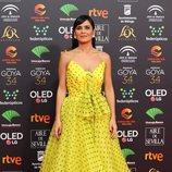 Elena S. Sánchez en la alfombra roja de los Premios Goya 2020