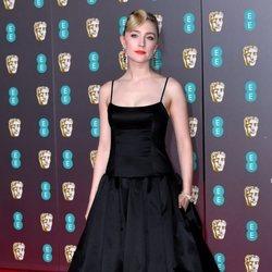 Saoirse Ronan en la alfombra roja de los BAFTA 2020