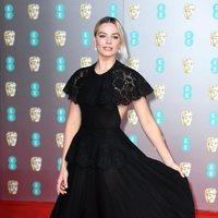 Margot Robbie en la alfombra roja de los BAFTA 2020
