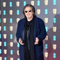 Al Pacino en la alfombra roja de los BAFTA 2020