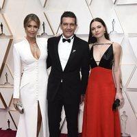 Antonio Banderas en la alfombra roja de los Oscar 2020
