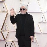 Pedro Almodóvar en la alfombra roja de los Oscar 2020