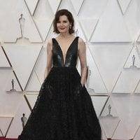 Geena Davis en la alfombra roja de los Oscar 2020