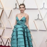 Florence Pugh en la alfombra roja de los Oscar 2020