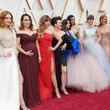 Gisela y las Elsas del Mundo en la alfombra roja de los Oscar 2020