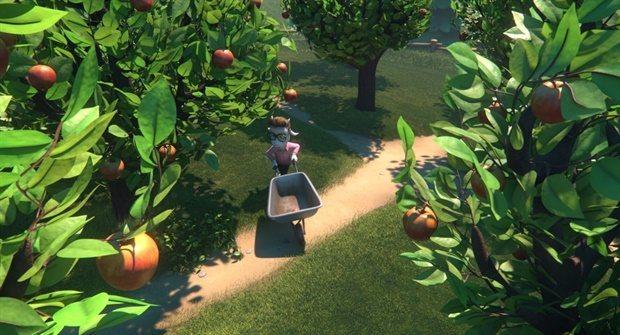 Klara y el Ladrón de Manzanas, fotograma 3 de 10