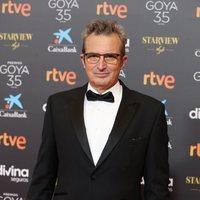 Mariano Barroso en la alfombra roja de la 35 edición de los Premios Goya