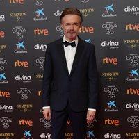 Tristán Ulloa en la alfombra roja de la 35 edición de los Premios Goya