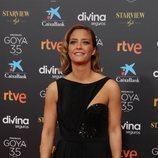 María Casado en la alfombra roja de la 35 edición de los Premios Goya