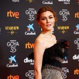 Marta Nieto en la alfombra roja de los Goya 2021