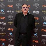 Carlos Areces en la alfombra roja de la 35 edición de los Premios Goya