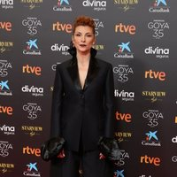 najwa-nimri-at-the-red-carpet-of-the-35th-edition-of-the-goya-awards