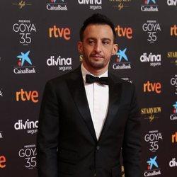 Alejandro Amenábar en la alfombra roja de la 35 edición de los Premios Goya