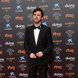 Julián López en la alfombra roja de la 35 edición de los Premios Goya