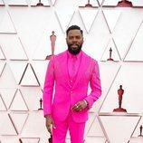 Colman Domingo en la alfombra roja de los Oscar 2021