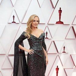 Marlee Matlin en la alfombra roja de los Oscar 2021