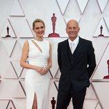 Anthony Hines en la alfombra roja de los Oscar 2021