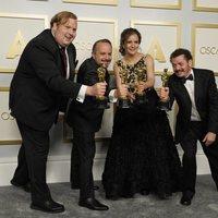 Phillip Bladh, Carlos Cortes, Michellee Couttolenc y Jaime Baksht, ganadores del Oscar 2021 al mejor sonido