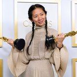 Chloé Zhao ganadora del Oscar 2021 a la Mejor Dirección por 'Nomadland'