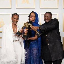 Tiara Thomas, H.E.R. y Dernst Emile II ganadores del Oscar 2021 a la Mejor canción