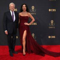 Michael Douglas y Catherine Zeta-Jones en la alfombra roja de los Emmy 2021