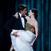 Hugh Jackman y Anne Hathaway