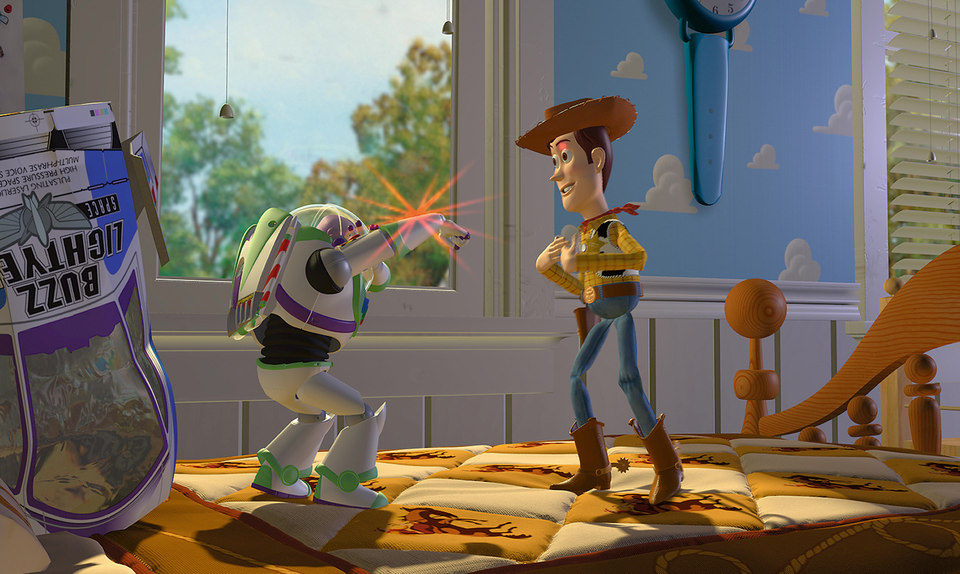 Toy Story 3D, fotograma 1 de 10