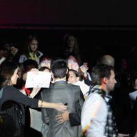 Taylor Lautner firma autógrafos en Madrid