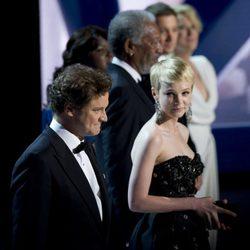 Colin Firth y Carey Mulligan