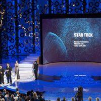 Mindy Hall, Barney Burman y Joel Harlow en los Oscar 2010