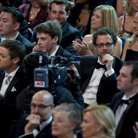 Jeremy Renner y Ethan Coen en la gala de los Oscar