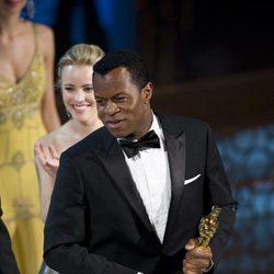 Geoffrey Fletcher con su Oscar