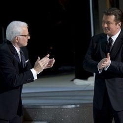 Steve Martin y Alec Baldwin en los Oscar 2010