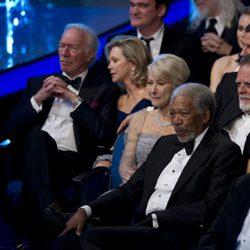 Christopher Plummer, Helen Mirren y Morgan Freeman