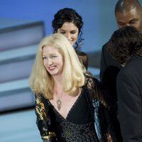 Chris Innis recibe el Oscar al mejor montaje