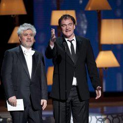 Pedro Almodóvar y Quentin Tarantino
