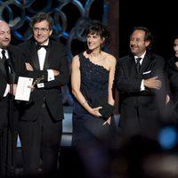 Juan Jose Campanella recibe el Oscar