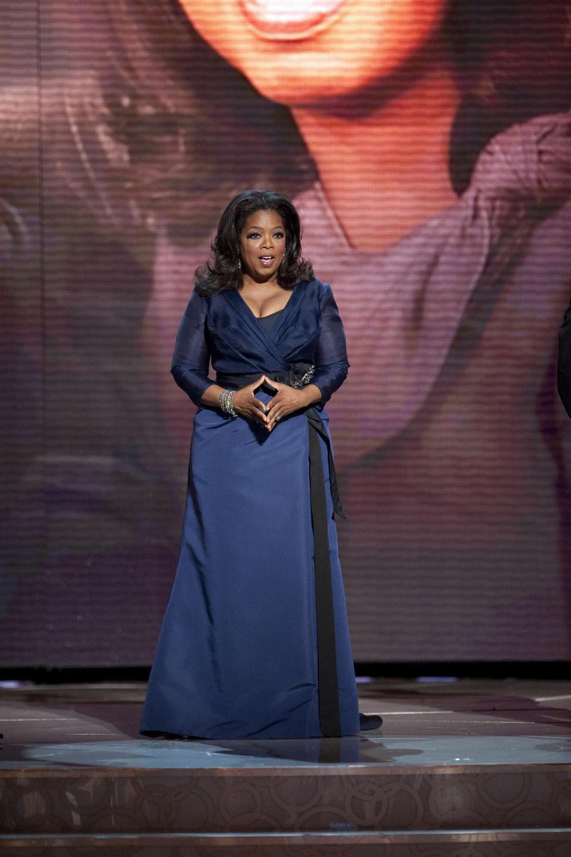 Oprah Winfrey en la 82ª edición de los Oscar